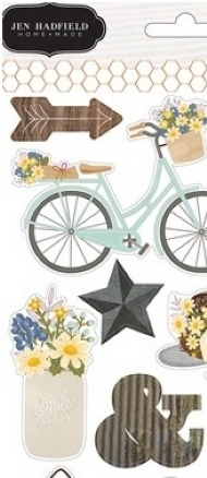 Jen Hadfield Life Cardstock Sticker