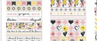 BOBUNNY - PETAL LANE COLLECTION - CLEAR STICKERS