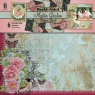 MYSTIC GARDEN -  HOT OFF PRESS - SCRAPBOOKING PAPER PAD