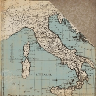 CARTA BELLA PAPER - OLD WORLD TRAVEL COLLECTION - OLD WORLD MAP