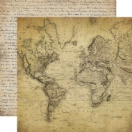 CARTA BELLA PAPER - OLD WORLD TRAVELLER
