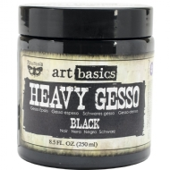 PRIMA MARKETING - FINNABAIR - ART BASICS HEAVY - GESSO BLACK