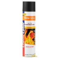 Tinta Spray Alta Temperatura 350ml/215g