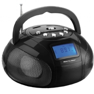 MINI BOOMBOX PRETO MULTILASER SP145