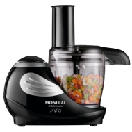 Multiprocessador Mondial Mini MP-02 310ml Preto e Prata 127V - 160W