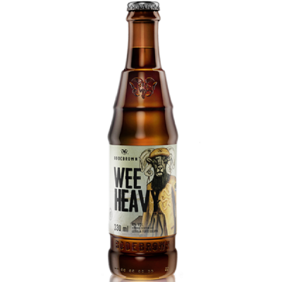 Pack c/ 24 garrafas 330ml - Cerveja Wee Heavy - Bodebrown