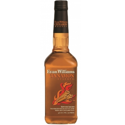 Whisky Evan Williams Cinnamon Reserve (Licor de Bourbon com Canela)