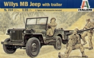 Willys MB Jeep com Trailer