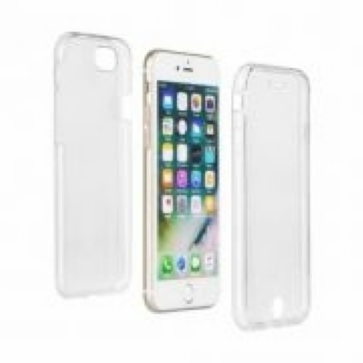 Capinha Case 360 Híbrida Luxo Transparente Iphone 7 Plus/8Plus.