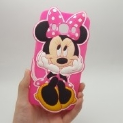 Capinha Minnie Rosa 3D Galaxy J5 J500