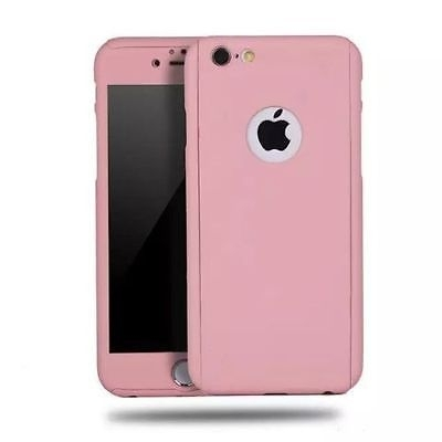 Capinha Case 360 Híbrida Luxo Rose Iphone 7 Plus / Iphone 8 Plus.