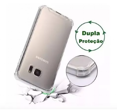 Capinha Case Anti Choque Transparente Galaxy S7 Edge