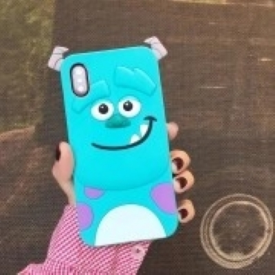 Capinha Case Sulley 3D Iphone X.