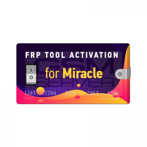Miracle FRP Tool Activation