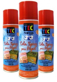 COLA SPRAY TEC PARA PAPEL 250ml 303