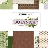 KAISERCRAFT - BOTANICA PAPER PACK WITH BONUS STICKER SHEET