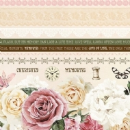 KAISERCRAFT - MADEMOISELLE PAPER PACK WITH BONUS STICKER SHEET