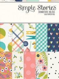 SIMPLE STORIES - DOMESTIC BLISS - 3X4 JOURNALING CARD ELEMENTS