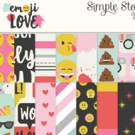 "Simple Stories - Emoji Love - Stickers 4""X 6"""