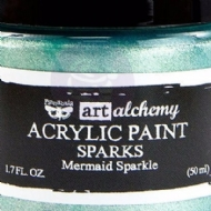 TINTA ACRÍLICA - PRIMA MARKETING - FINNABAIR - ART ALCHEMY - SPARKS - MERMAID SPARKLE