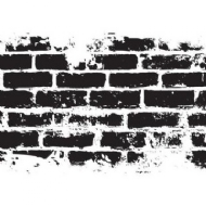 KAISERCRAFT - BRICK WALL TEXTURE STAMP