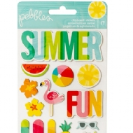 Sunshiny Days Stickers - Icons American Crafts