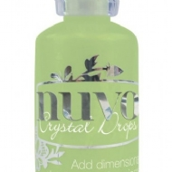 COLA DIMENSIONAL - TONIC STUDIOS - NUVO CRYSTAL DROPS GLOSS -  APPLE GREEN