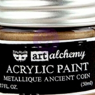 TINTA ACRÍLICA - PRIMA MARKETING - FINNABAIR - ART ALCHEMY - METALLIQUE ANCIENT COIN