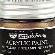 TINTA ACRÍLICA - PRIMA MARKETING - FINNABAIR - ART ALCHEMY - METALLIQUE STEAMPUNK COPPER