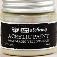 TINTA ACRÍLICA - PRIMA MARKETING - FINNABAIR - ART ALCHEMY - OPAL MAGIC YELLOW - BLUE