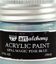 TINTA ACRÍLICA - PRIMA MARKETING - FINNABAIR - ART ALCHEMY - OPAL MAGIC PINK-BLUE
