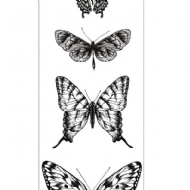 KAISERCRAFT - TEXTURE - BUTTERFLIES CLEAR STAMP