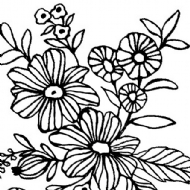 PRIMA MARKETING - CHRISTINE ALDOLPH - CLING MOUNTED STAMPS - CHEERFUL BLOOM