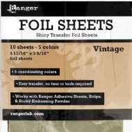 INKSSENTIALS FOIL SHEETS - RANGER INK - FOIL SHEETS - VINTAGE