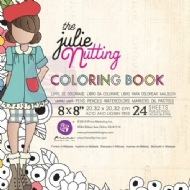 PRIMA MARKETING -THE JULIE NUTTING - COLORING BOOK
