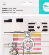 WE R MEMORY KEEPERS - BANNER LAYERED STAMPS - CAMERA