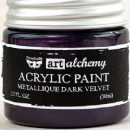 TINTA ACRÍLICA - PRIMA MARKETING - FINNABAIR - ART ALCHEMY - METALLIQUE DARK VELVET