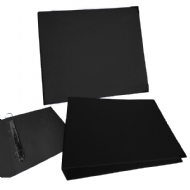 ALBUM SCRAPBOOK - 12X12 LISO PRETO CR