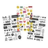 Simple Stories - Emoji Love - Clear Stickers 4