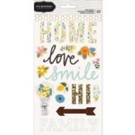 Jen Hadfield Simple life puffy stickers