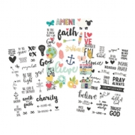 Simple Stories -  Faith - Clear Stickers 4