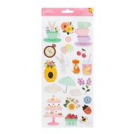 PEBBLES - TEALIGHTFUL COLLECTION - CLEAR STICKERS