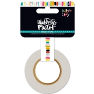 WASHI TAPE - ILLUSTRATES FAITH - ENJOY LIFE - BELLA BLVD