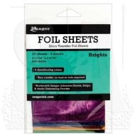 RANGER SHINY FOIL TRANSFER SHEETS - RANGER INK - BRIGTHS