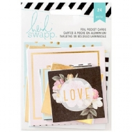 HEIDI SWAPP - AMERICAN CRAFTS - MEMORY PLANNER - FOIL POCKET CARDS