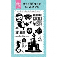 ECHO PARK - CLEAR ACRYLIC STAMPS - MERMAID KISSES