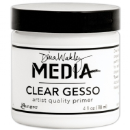 RANGER INK - DINA WAKLEY - MEDIA GESSO - CLEAR