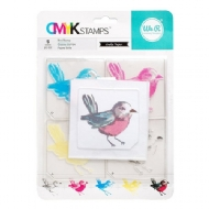 WE R MEMORY KEEPERS - BANNER LAYERED STAMP - BIRD