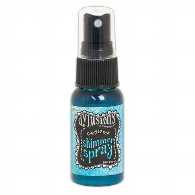 RANGER INK - DYLUSIONS SHIMMER SPRAYS - CALYPSO TEAL