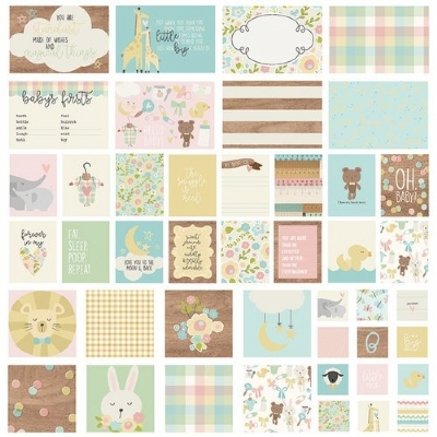 SIMPLE STORIES - SN@P! CARDS PACK - OH BABY!